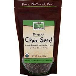 Organic Black Chia Seeds - NOW Foods | Pure On Main