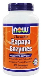Papaya Enzyme Lozenges, NOW Brands | Pure On Main Cellcore