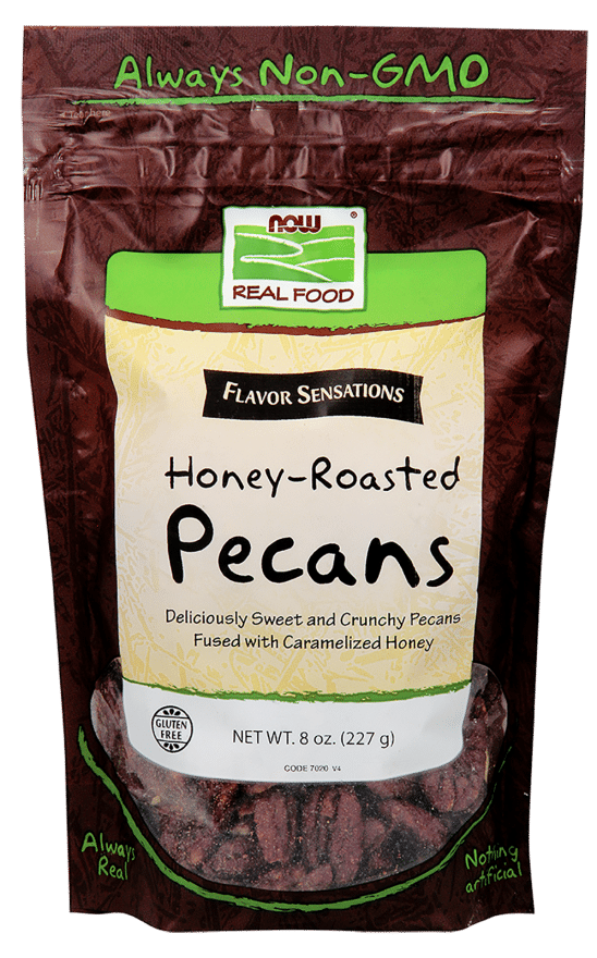 Honey Roasted Pecans | Pure On Main NOW Brands