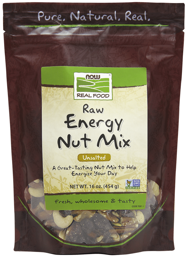 Raw Energy Nut Mix - NOW Foods | Pure On Main Immune Building