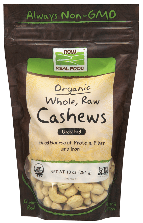 Orgainic Cashews - NOW Foods | Pure On Main Detox and Weight Loss