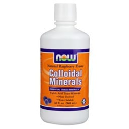 NOW Colloidal Minerals 32oz | Pure On Main Energy and Focus