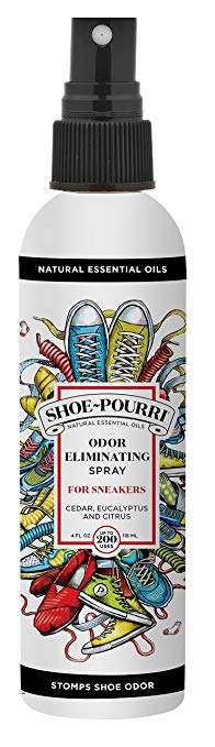 Odor Eliminating Shoe Spray