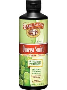 Barlean's Omega Swirl Fish Oil - Key Lime
