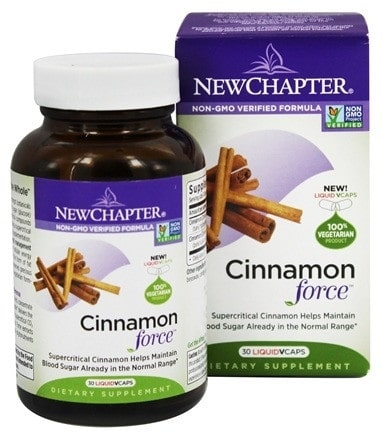 New Chapter Cinnamon Force 30 Capsules | Pure On Main