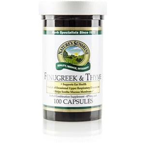 Fenugreek and Thyme Supplement | Pure On Main Gut Health