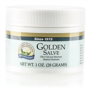 Golden Salve, Olive Oil, Beezwax Herbal Ointment, Nature's Sunshine | Pure On Main