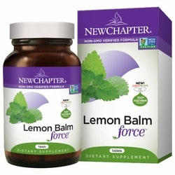 New Chapter Lemon Balm Force Capsules | Pure On Main