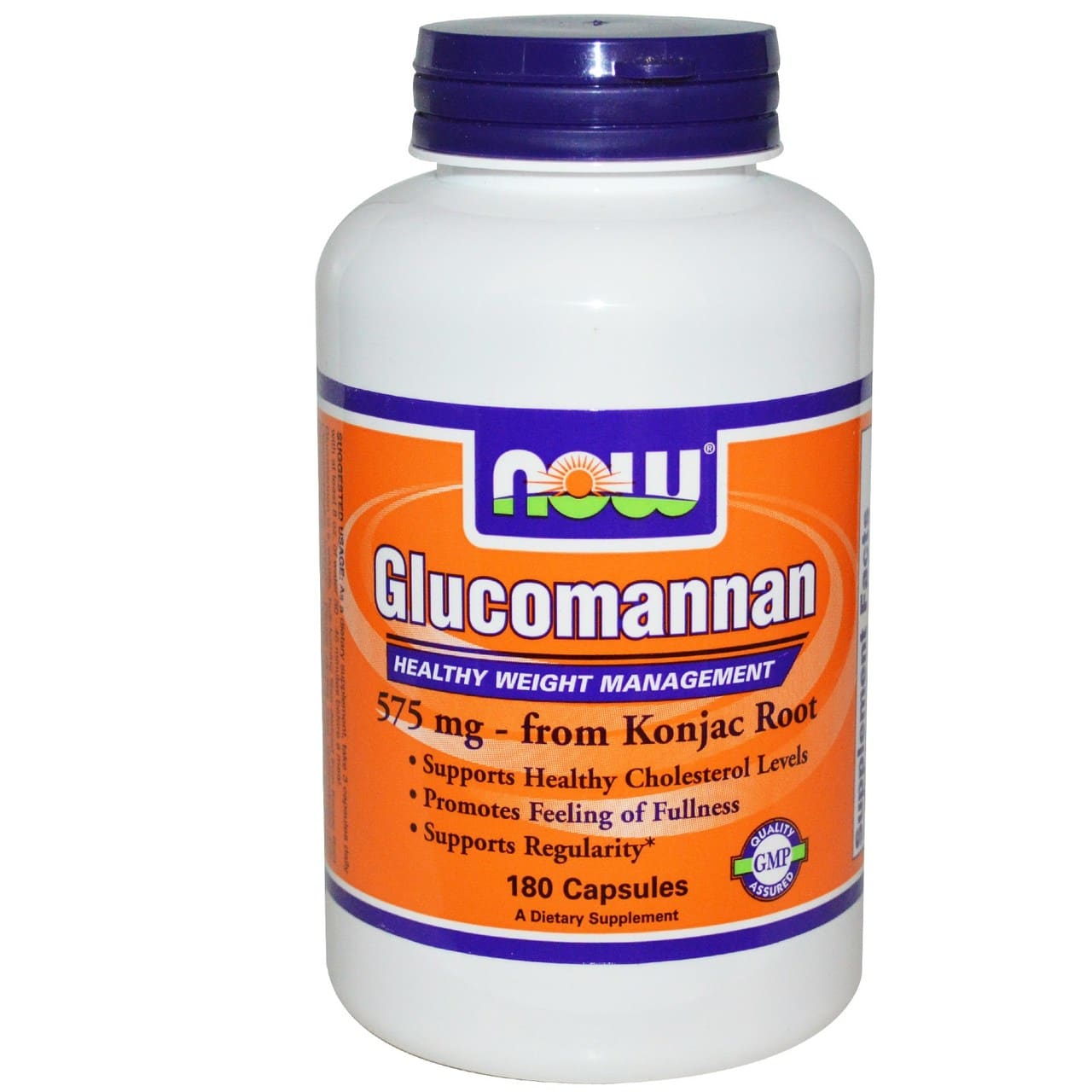 Glucomannan, Healthy Weight Management | NOW Foods Immune Building