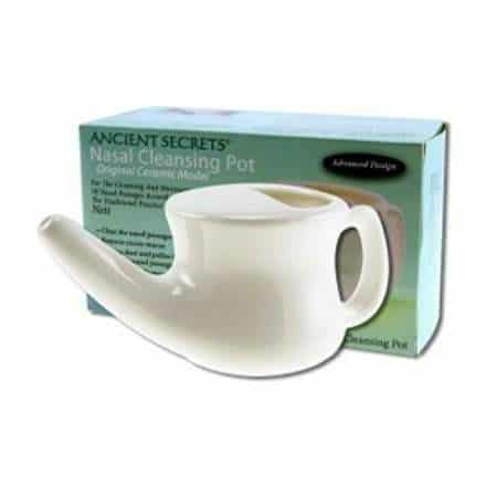 Nasal Cleansing Pot   Pure On Main Allergy, Cold, and Sinus