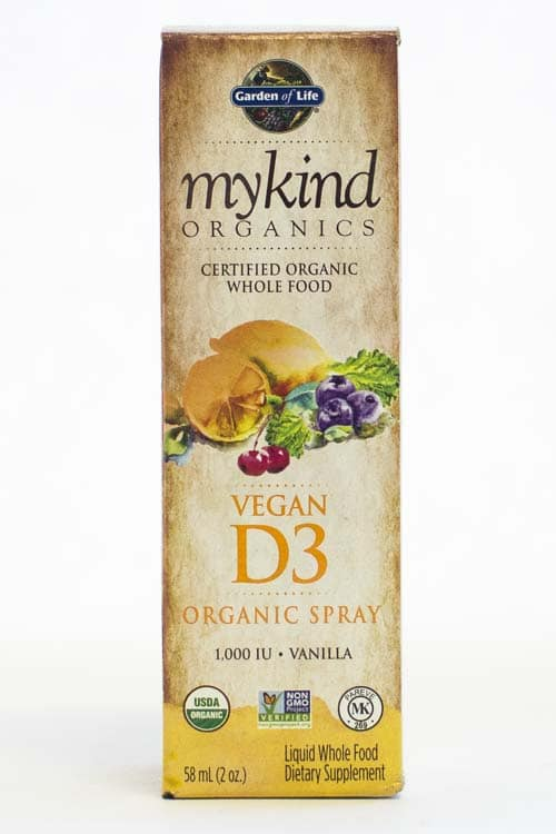 Garden of Life | My Kind Organics | Vegan D3 Spray