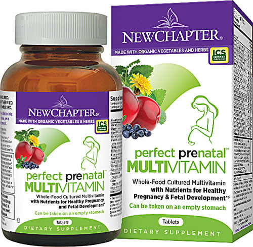 New Chapter Prenatal Multivitamins | Pure On Main New Chapter