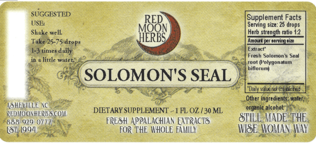 Red Moon Herbs | Solomon's Seal Oil