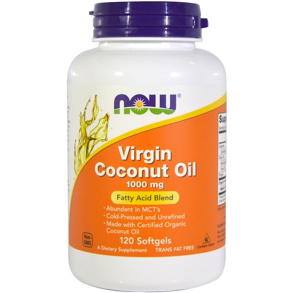 NOW | Virgin Coconut Oil Softgel