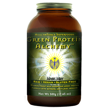 Elite Green Protein Alchemy, HealthForce | Pure On Main Energy and Focus