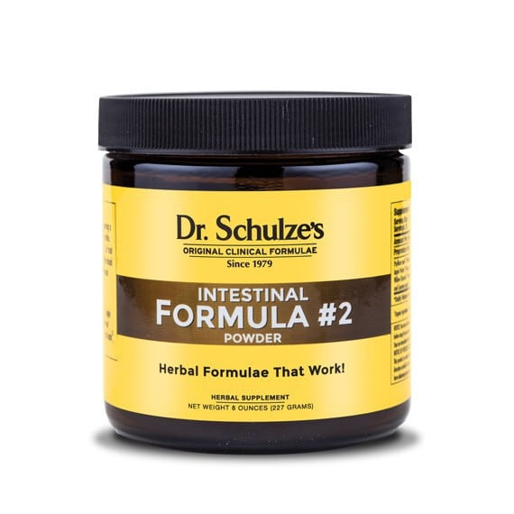 Dr. Schulze's Intestinal Formula #2 Colon Bowel Cleanse Powder