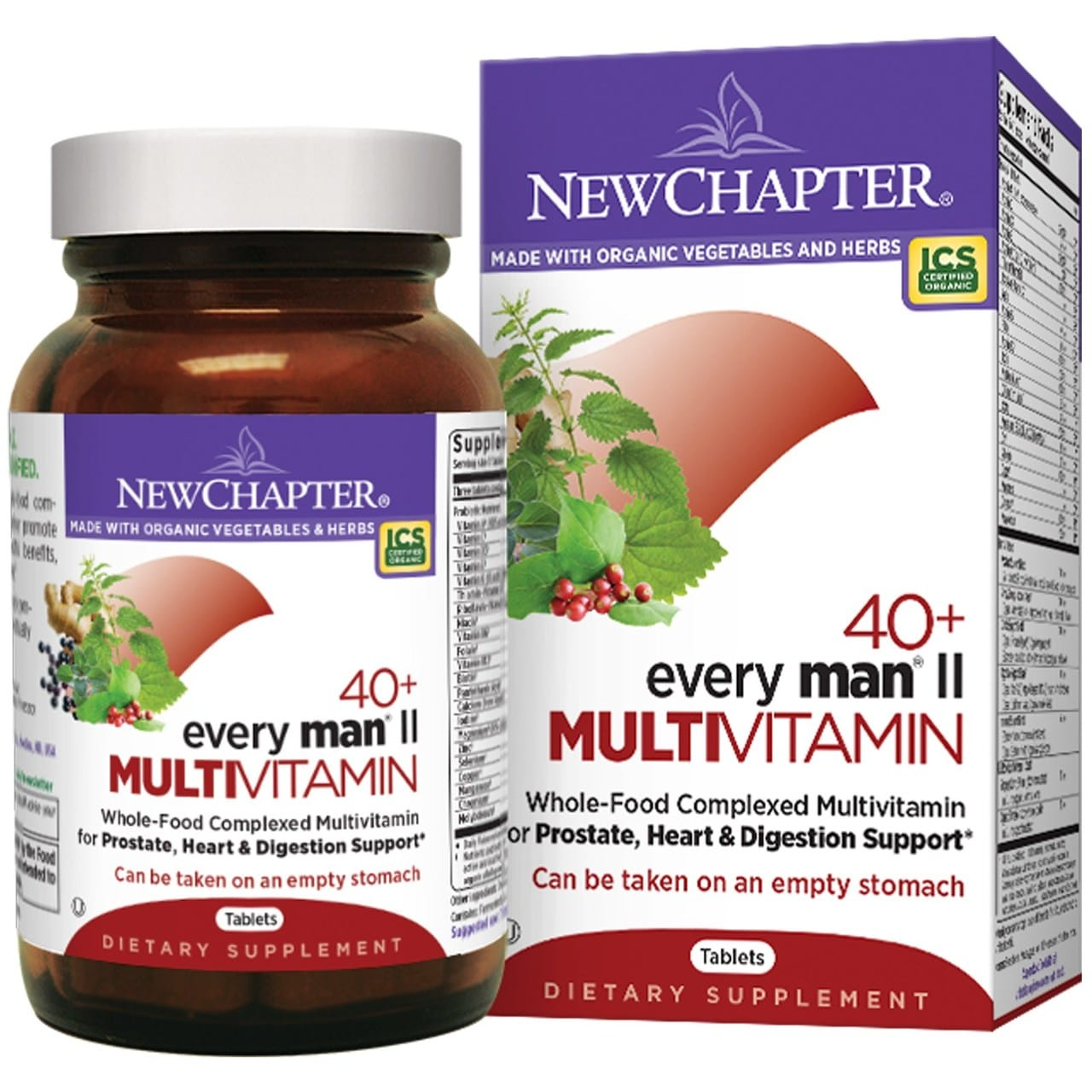 New Chapter   Every Man's 40+ Multivitamins