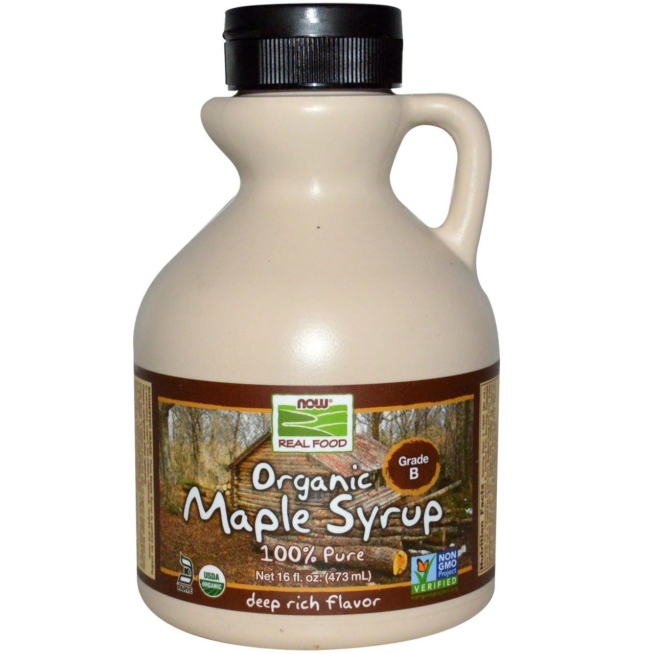 NOW Organic Maple Syrup