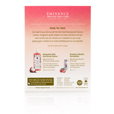 Cleanse and Glow Gift Set | Eminence